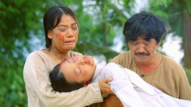 Một phân cảnh đau xót trong phim ''Áo Lụa Hà Đông''