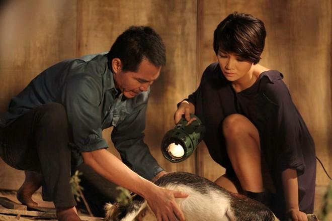 Tên tội phạm Trung gặp gỡ nữ y tá Kim tại một trang trại nuôi dê hẻo lánh.