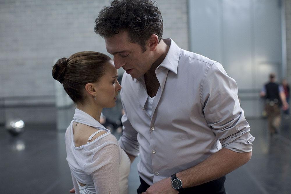 Nina Sayers và đạo diễn ballet Thomas Leroy.