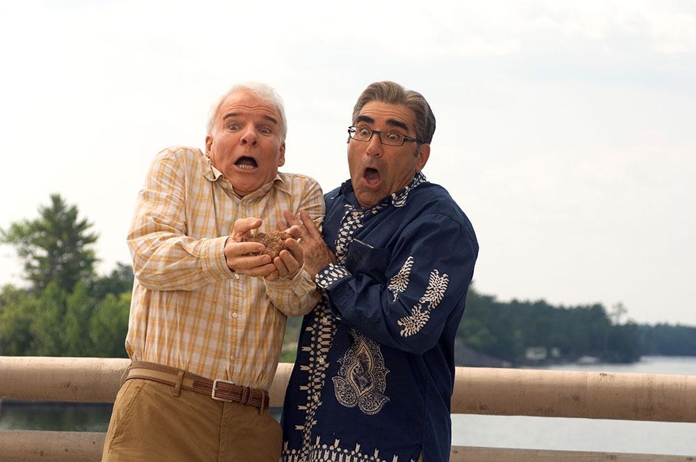 Hai ông bố - hai kẻ đối đầu: Tom Baker và Jimmy Muraugh.