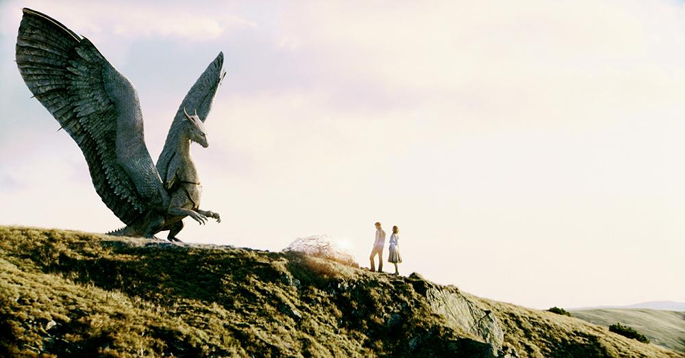 Cô rồng Saphira trong phim ''Eragon''.