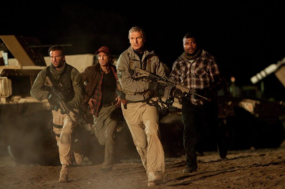 Face, Murdock, Hannibal và B.A. lên đường xuất kích.