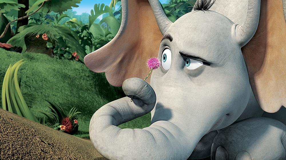 Nhân vật chú voi Horton do diễn viên hài Jim Carrey đảm nhận lồng tiếng.