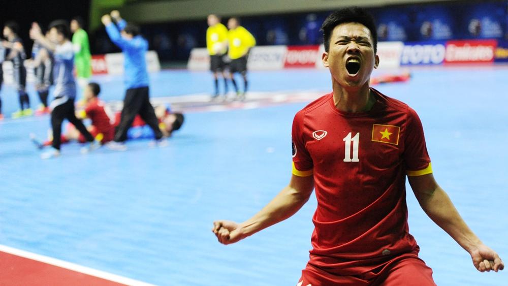 ĐT Futsal Việt Nam gây tiếng vang lớn tại World Cup 2016.