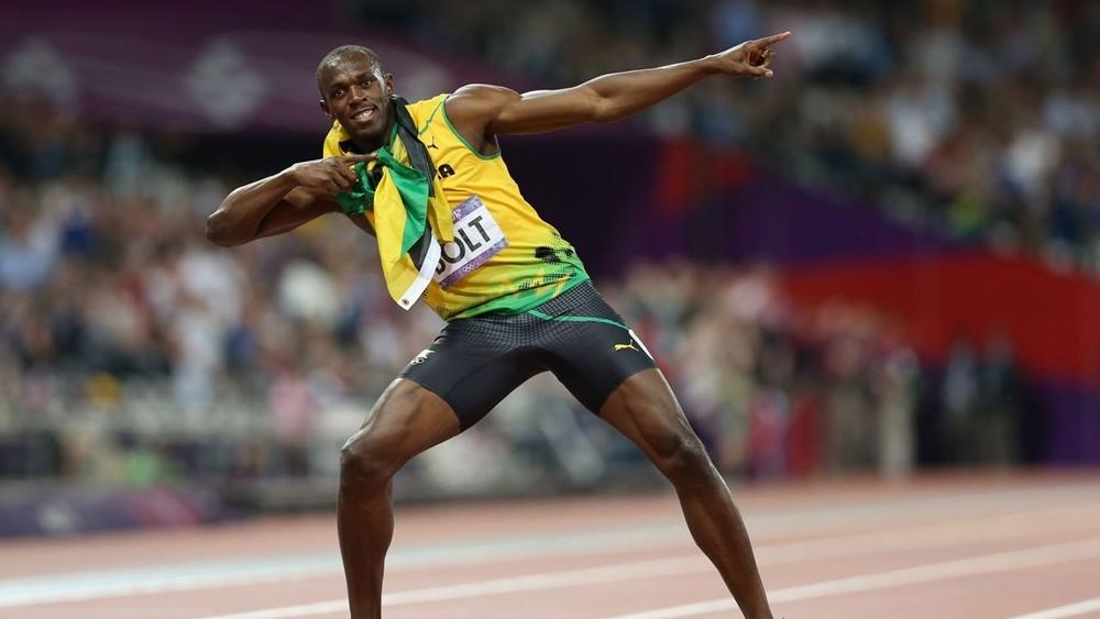 Tia chớp Usain Bolt.