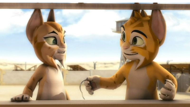 Một cảnh trong phim Mèo Rừng
