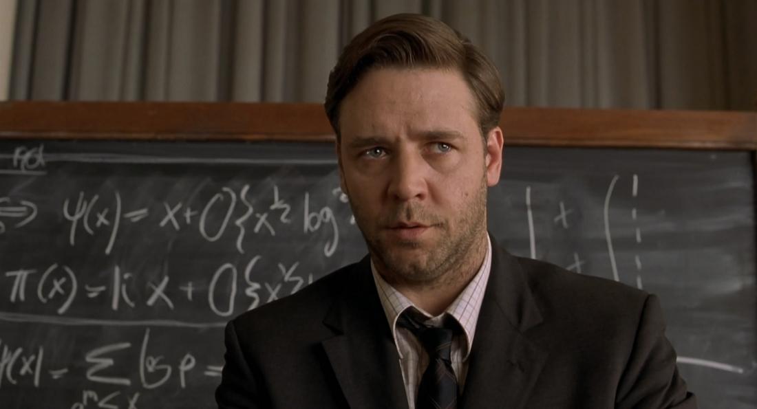 Nhân vật chính của ''A Beautiful Mind'' được lấy nguyên mẫu từ nhà bác học nổi tiếng người Mỹ John Nash - người được cả thế giới ngưỡng mộ bởi trí tuệ siêu phàm.