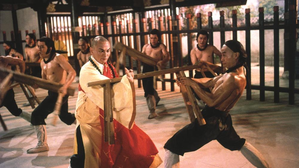 Một phân cảnh khác của thầy Tam Đức trong phim ''Disciples Of The 36th Chamber''