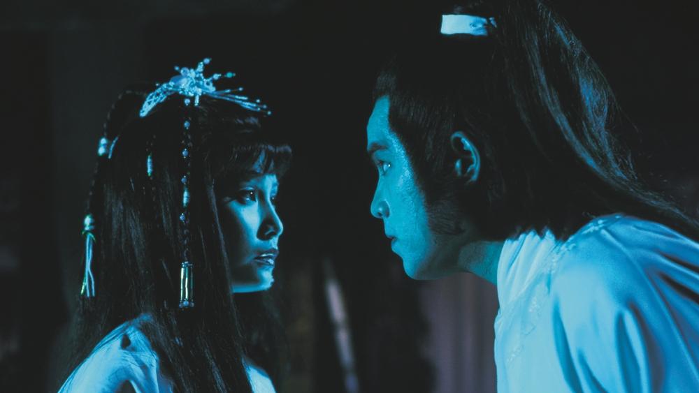Tiểu thư Lâm Đại Thiểu bị oan hồn Đỗ Lạc ám trong phim ''The Fake Ghost Catchers''