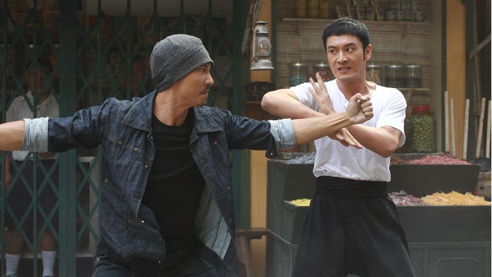 Một cảnh trong bộ phim ăn khách Diệp Vấn.
