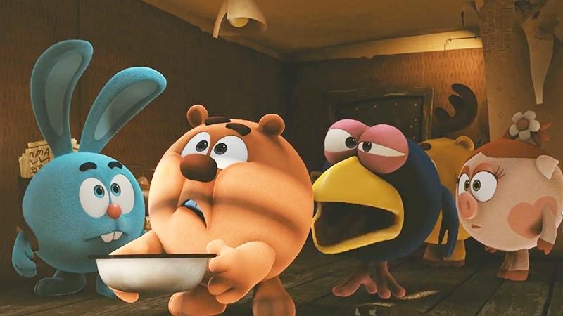 Một cảnh trong phim Kikoriki: Những Người Bạn Ngộ Nghĩnh