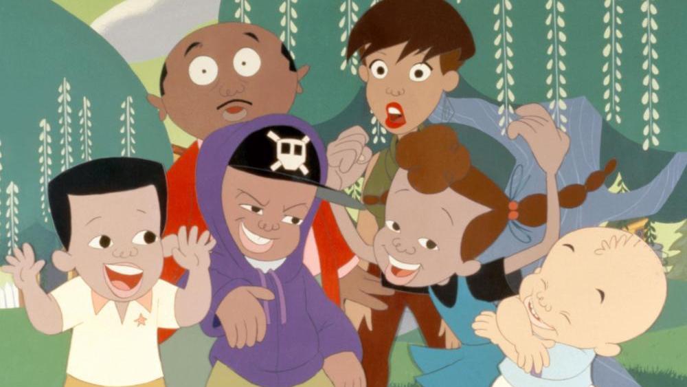 Một phân cảnh khác trong phim ''Bébé's Kids''