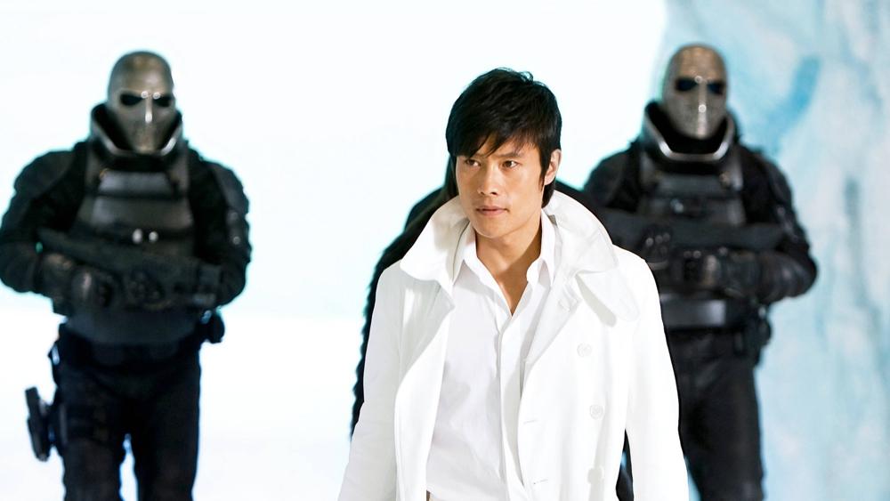 Tài tử Lee Byung Hun cũng góp một vai trong phim ''G.I. Joe: The Rise Of Cobra''