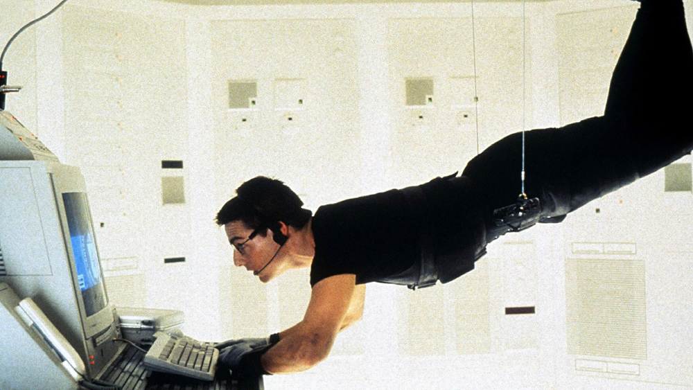 Một phân cảnh khác trong phim ''Mission: Impossible''