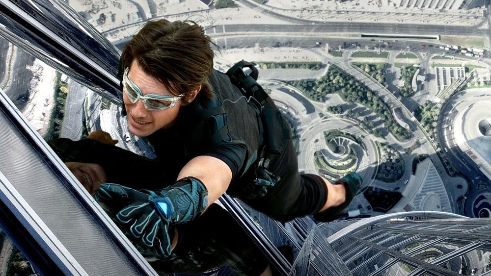 Một phân cảnh hành động nghẹt thở trong phim ''Mission: Impossible - Ghost Protocol''