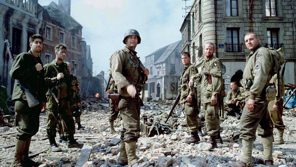 Một phân cảnh khác trong phim ''Saving Private Ryan''