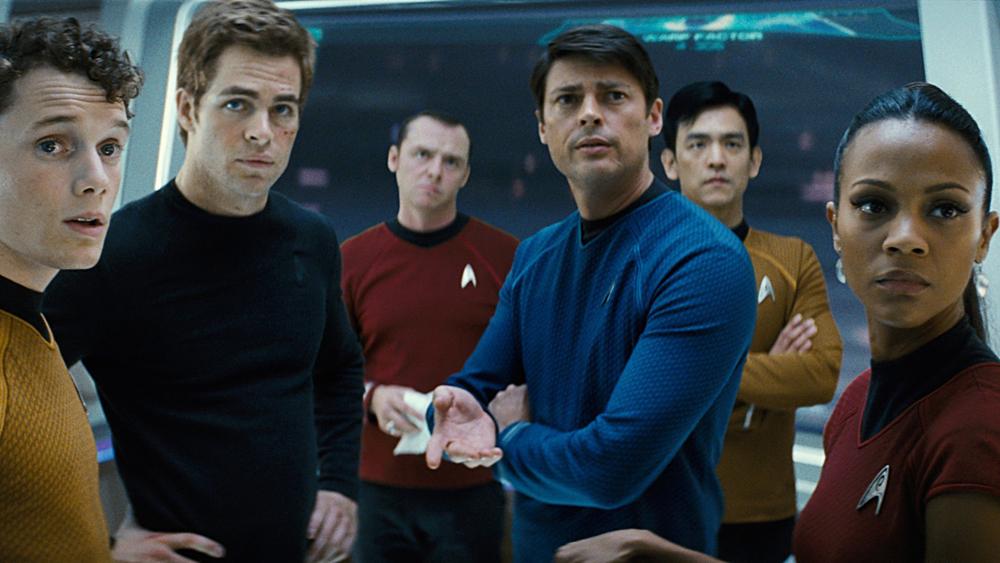 Một phân cảnh khác trong phim ''Star Trek''