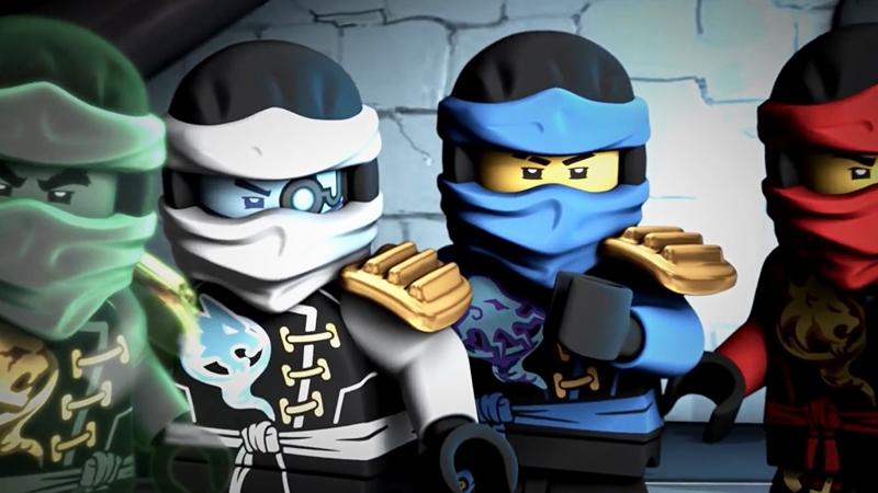 Một cảnh trong phim Ninjago