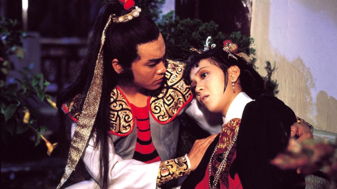Một cảnh trong phim ''Buddha's Palm''.