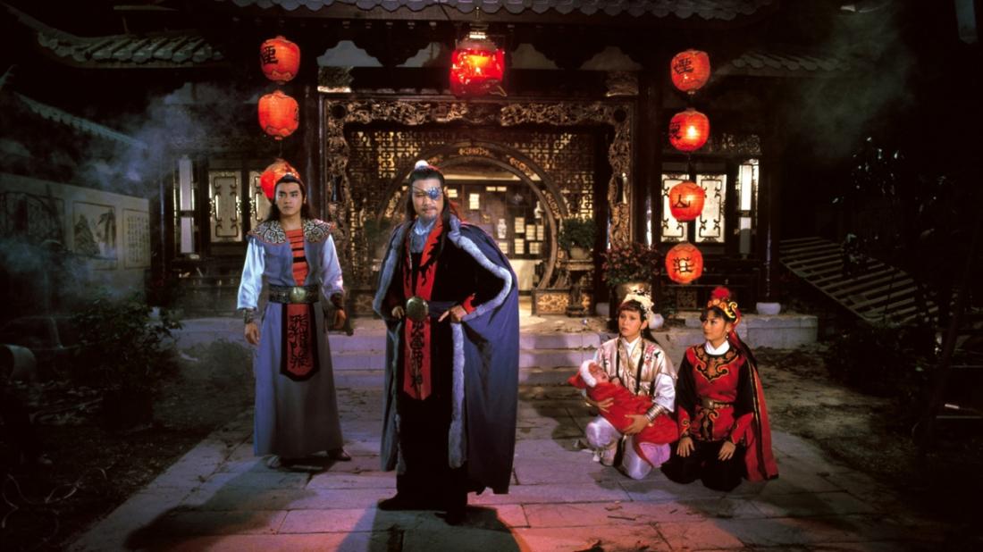 Long Thiên và sư phụ Hàn Hồng.
