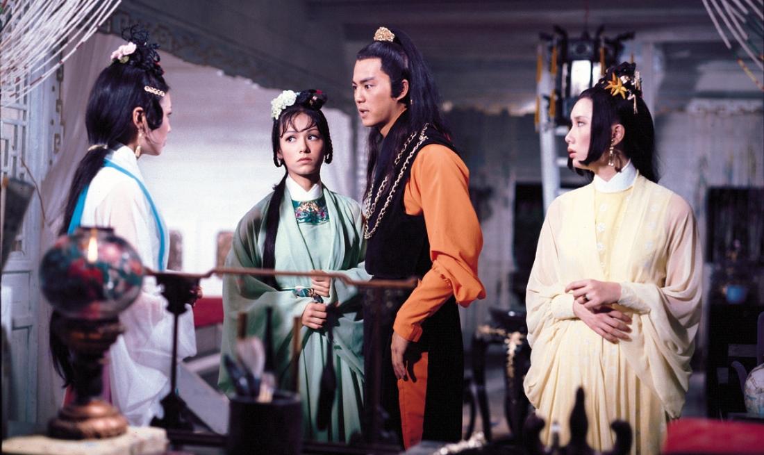 Sở Lưu Hương và ba nữ đệ tử.