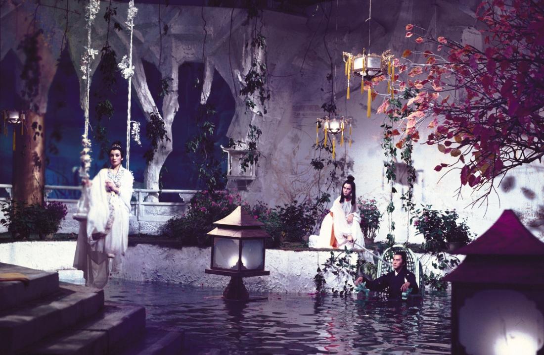 Sở Lưu Hương tại cung Thần Thủy.
