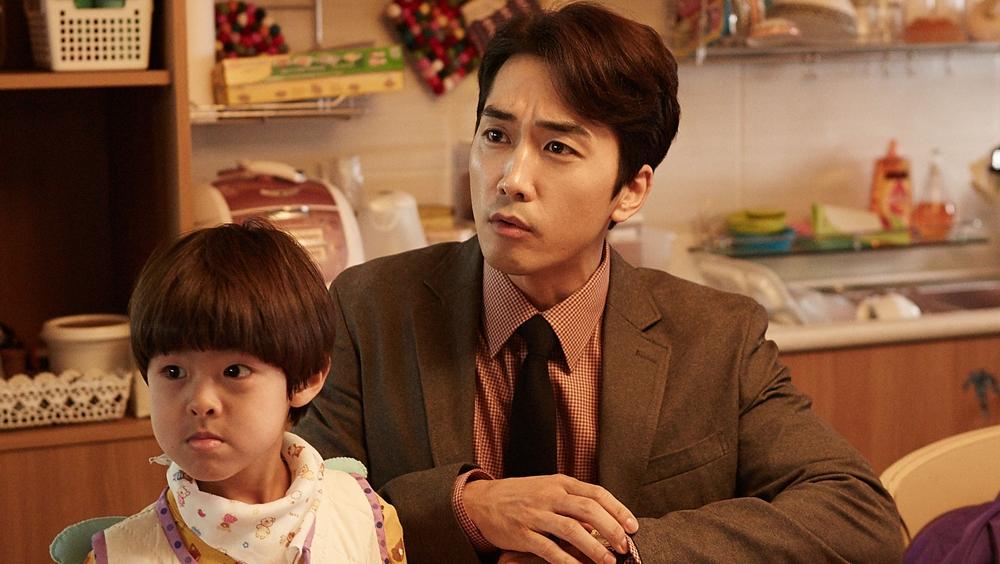Nam diễn viên điển trai Song Seung Hun trong vai Sung Hwan.