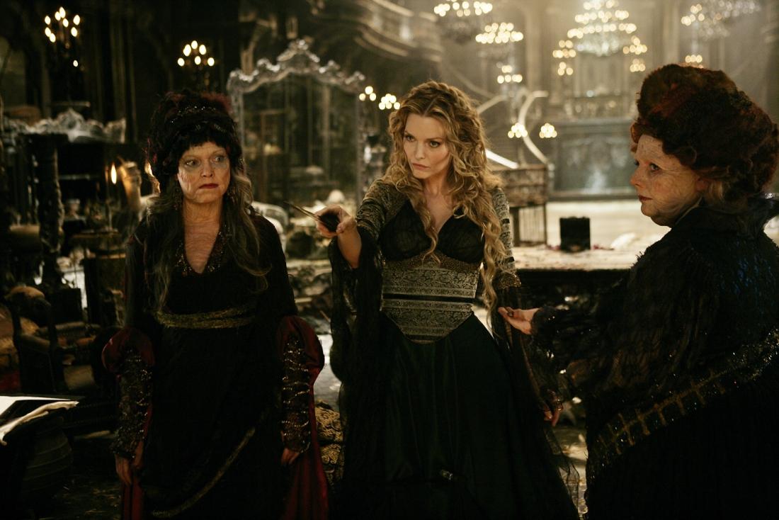 Ba mụ phù thủy trong phim ''Stardust''.