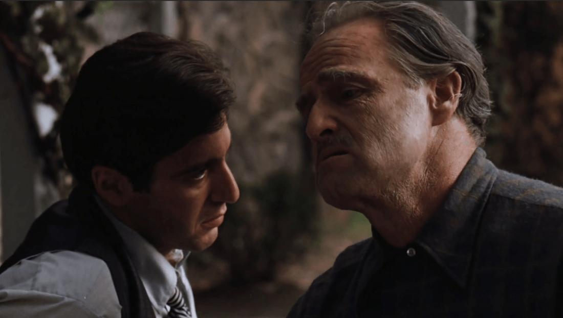 Sau khi phá vỡ được kế hoạch ám sát cha mình lần thứ hai, Michael quyết định đi báo thù cho cha.