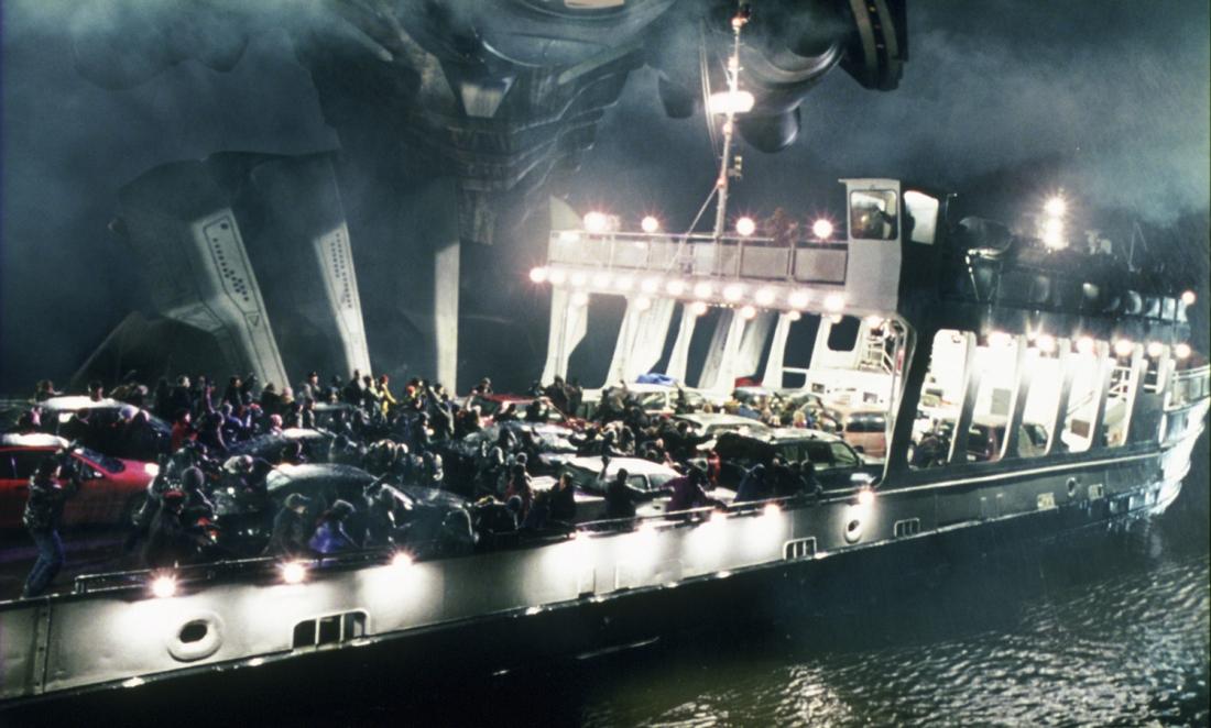 Bối cảnh phim diễn ra với sấm sét và những cơn địa chấn dữ dội đầu tiên, báo hiệu một cuộc tấn công tàn phá Trái đất của những kẻ xâm nhập ngoài hành tinh đã bắt đầu ở New Jersey.