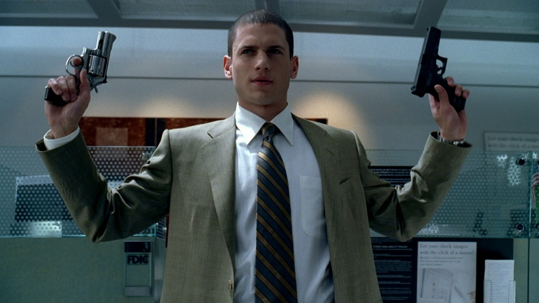 Wentworth Miller trong vai Michael Scofield.