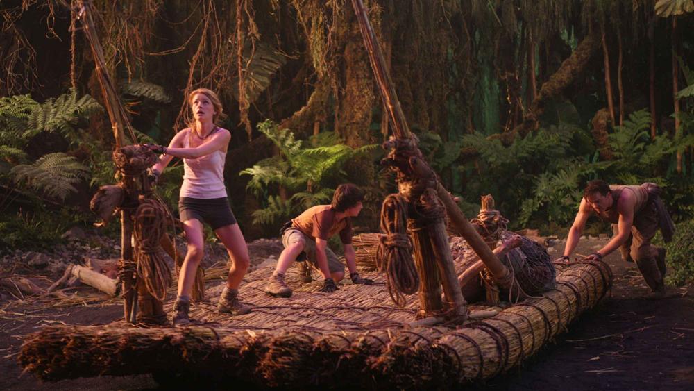 Tuy nhiên, niềm vui tìm thấy hệ sinh thái mới chẳng kéo dài, cả đoàn đã phải đối mặt với nguy cơ trước mắt...