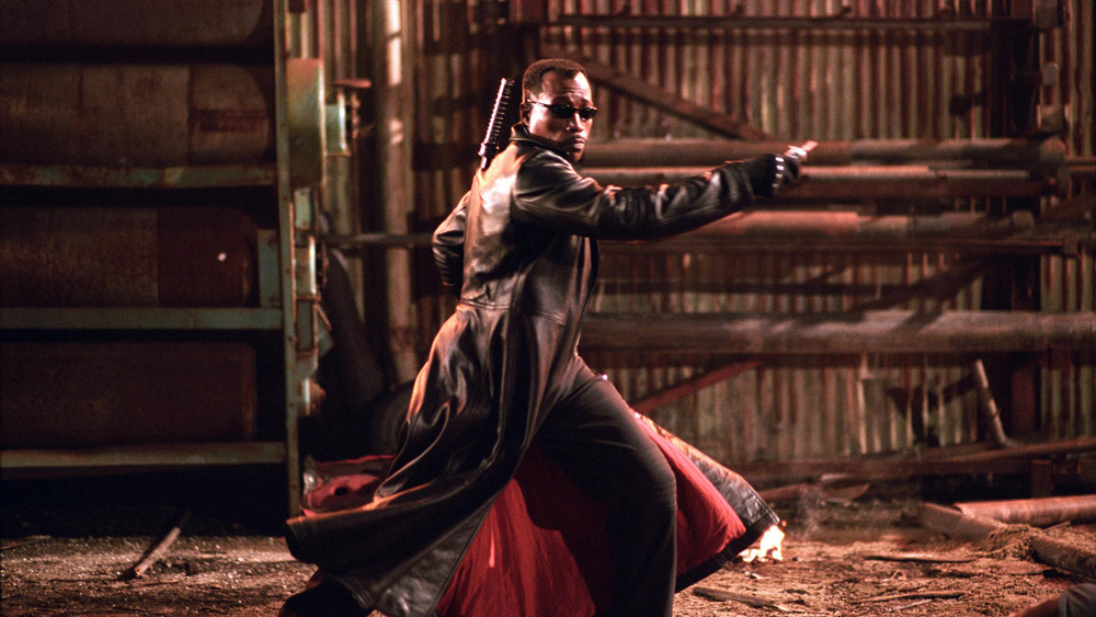 Trong phần 3 mang tên ''Blade: Trinity'', Blade bị cô lập bởi chính đồng loại lẫn con người.
