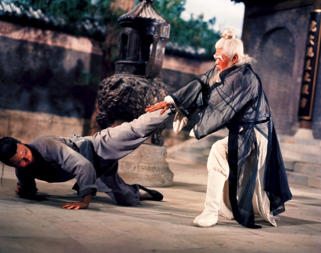Một cảnh trong phim ''Executioners From Shaolin''.