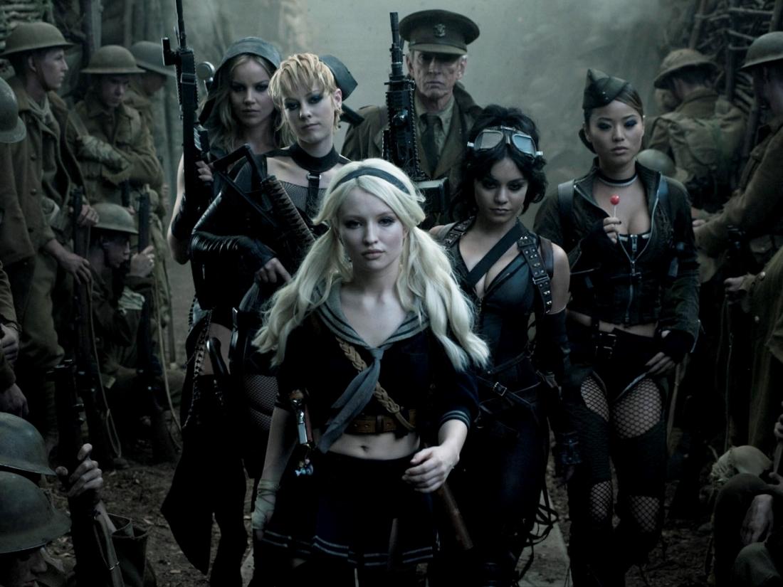 ''Sucker Punch'' của đạo diễn lừng danh Zack Snyder là bộ phim hành động đầy táo bạo về 5 nữ chiến binh gợi cảm và mạnh mẽ.