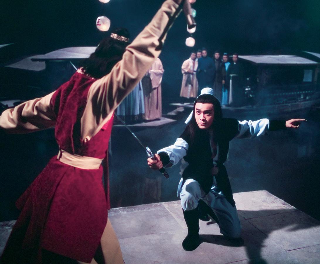 Tráng sĩ Đinh Bằng luyện được đao pháp Sao Băng nên đã giành chiến thắng trước nhiều đao thủ khác.