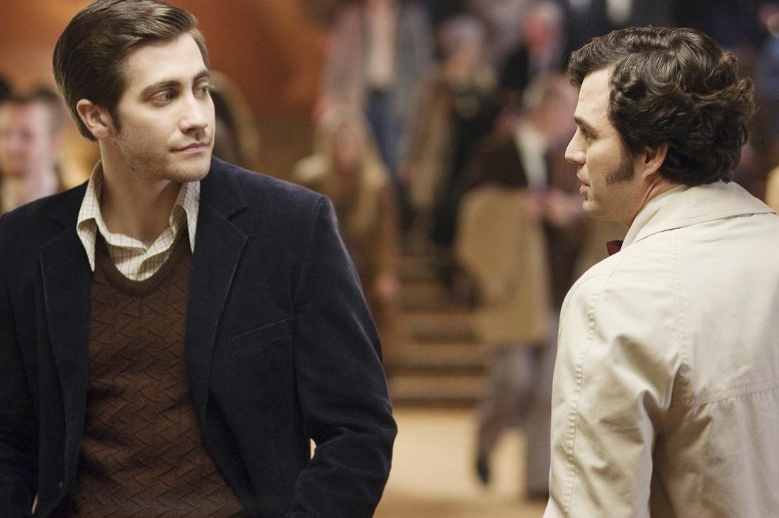 Jake Gyllenhaal trong vai phóng viên Robert Graysmith và Mark Ruffalo trong vai thanh tra David Toschi.
