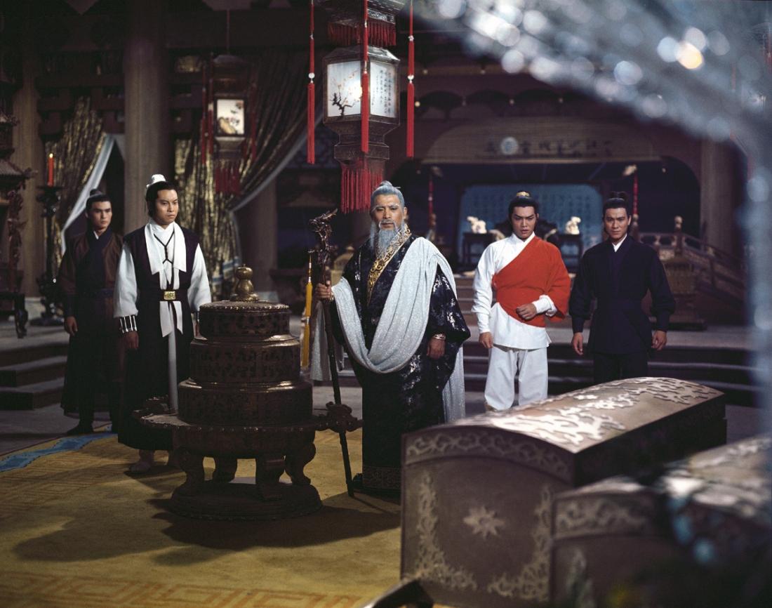 Tôn Vu - người đứng đầu Long Môn Bang và 3 đệ tử thân tín.