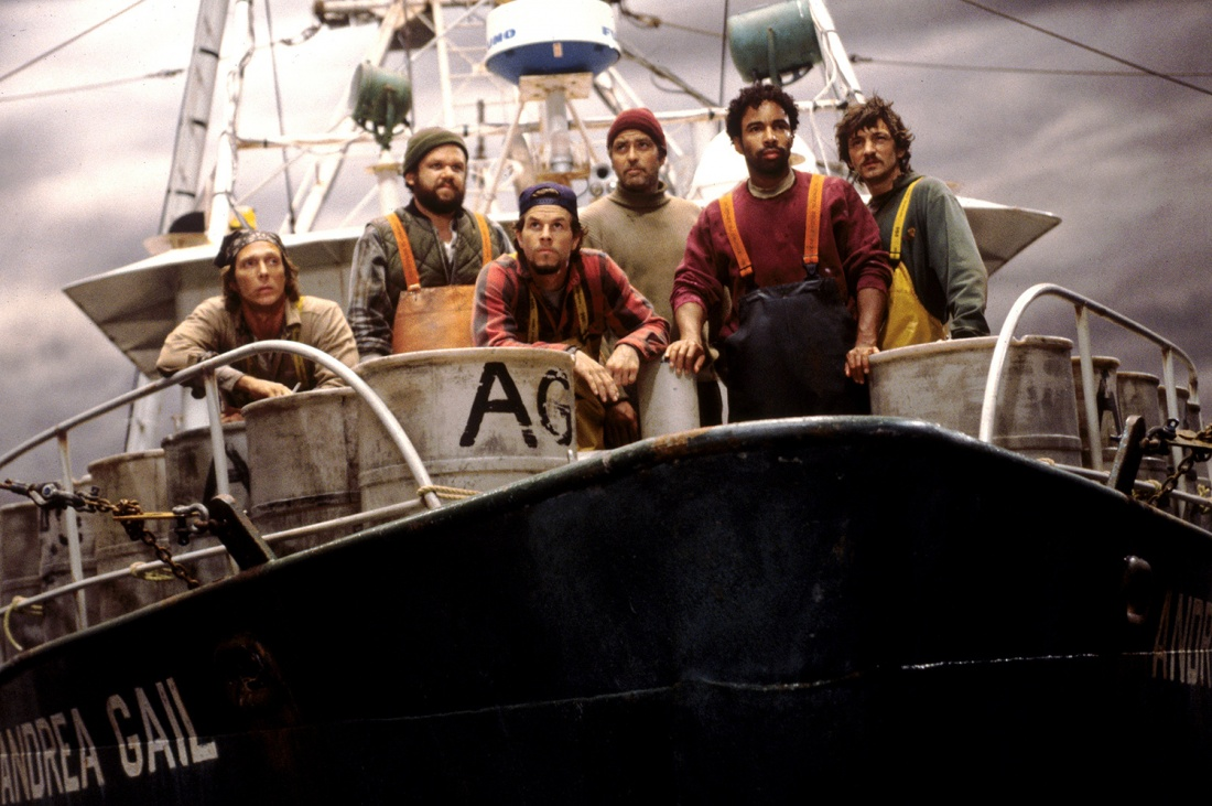 Các thủy thủ trên tàu đánh cá Andrea Gail.