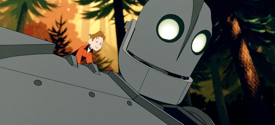 Hogarth và chú robot khổng lồ.