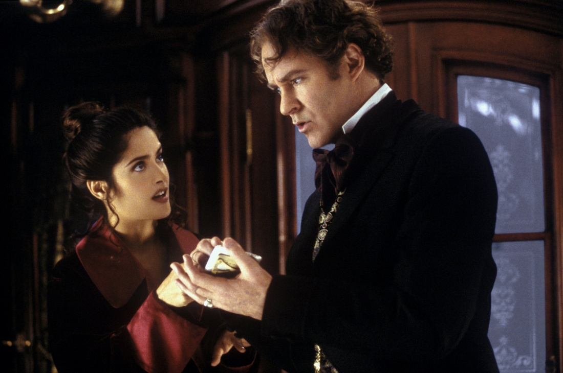 Salma Hayek trong vai Rita Escobar và Kevin Kline vai Artemus Gordon.