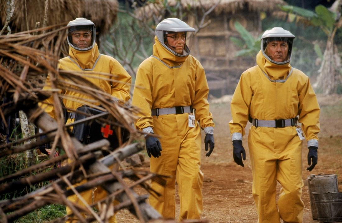 ''Outbreak'' là bộ phim kinh điển dựa trên sự kiện có thực về mối đe dọa của dịch bệnh do virus Ebola gây ra cho nhân loại xảy ra vào những năm 1990.
