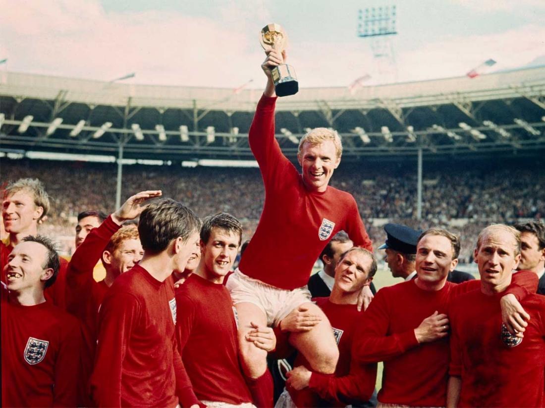 Tuyển Anh với lần vô địch World Cup duy nhất vào năm 1966.
