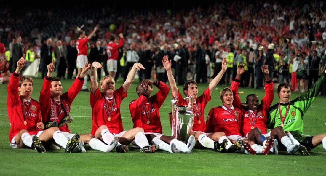 Man Utd đăng quang ngôi vô địch Champions League 1988/99 sau cú lội ngược dòng lịch sử trước Bayern Munich ở trận chung kết.