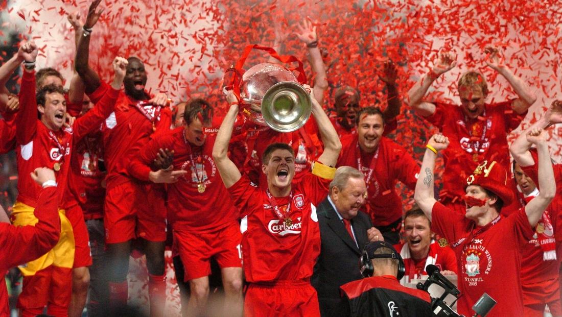 Liverpool với đêm kỳ diệu ở Istanbul 2005.