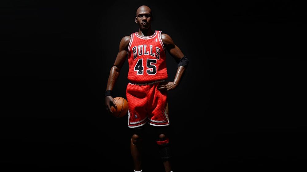 Huyền thoại bóng rổ Michael Jordan.