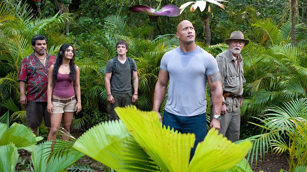Một phân cảnh khác trong phim ''Journey 2: The Mysterious Island''