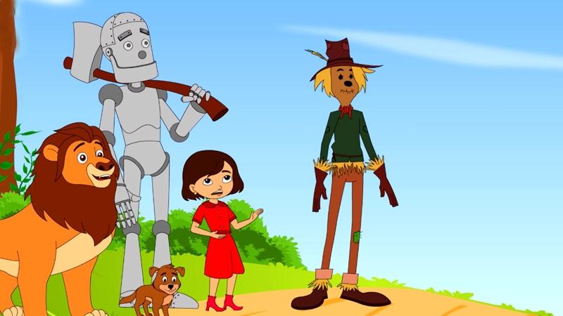 Dorothy và bạn bè chiến đấu lại với người của phù thủy phương Tây.