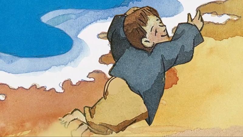 Cậu bé đang đặt chân tới sa mạc, một vùng đất mới mà cậu chưa bao giờ biết đến.