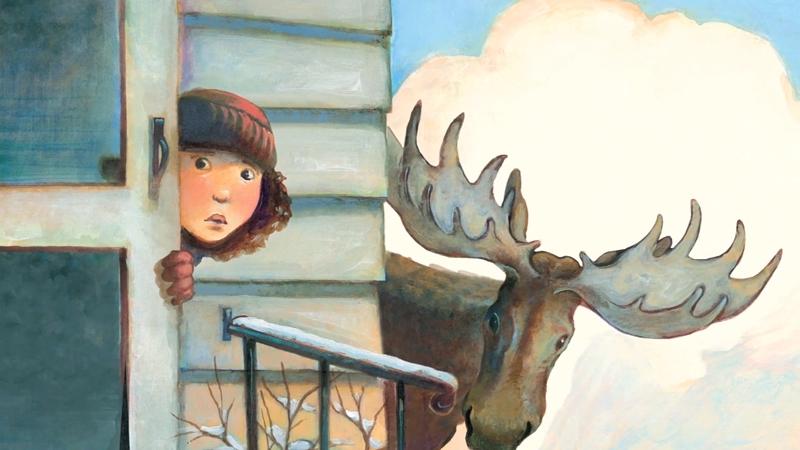 Bạn nhỏ khi ra đường phải nhìn trước sau để tránh nai sừng tấm.